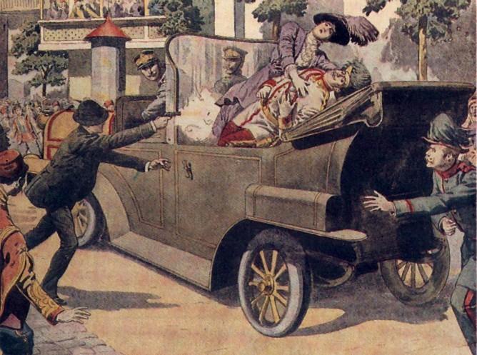 Prima guerra mondiale. Tutti sanno (o così si spera) che la scintilla del conflitto fu l'assassinio dell'arciduca Francesco Ferdinando,
